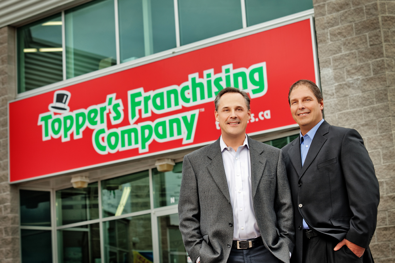 Keith Kelly Topper's Franchising Company