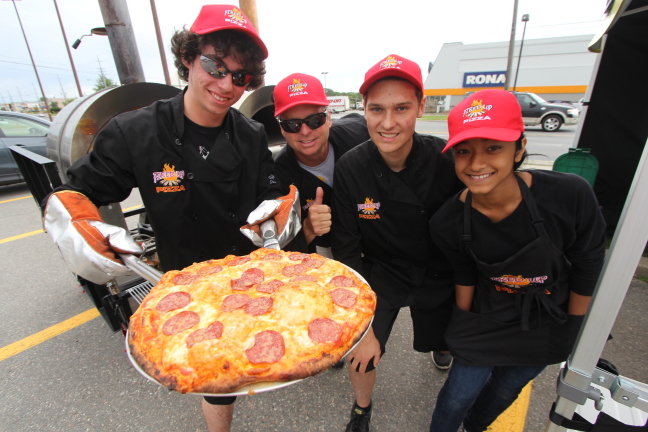 Fired Up Pizza and Workers Promo