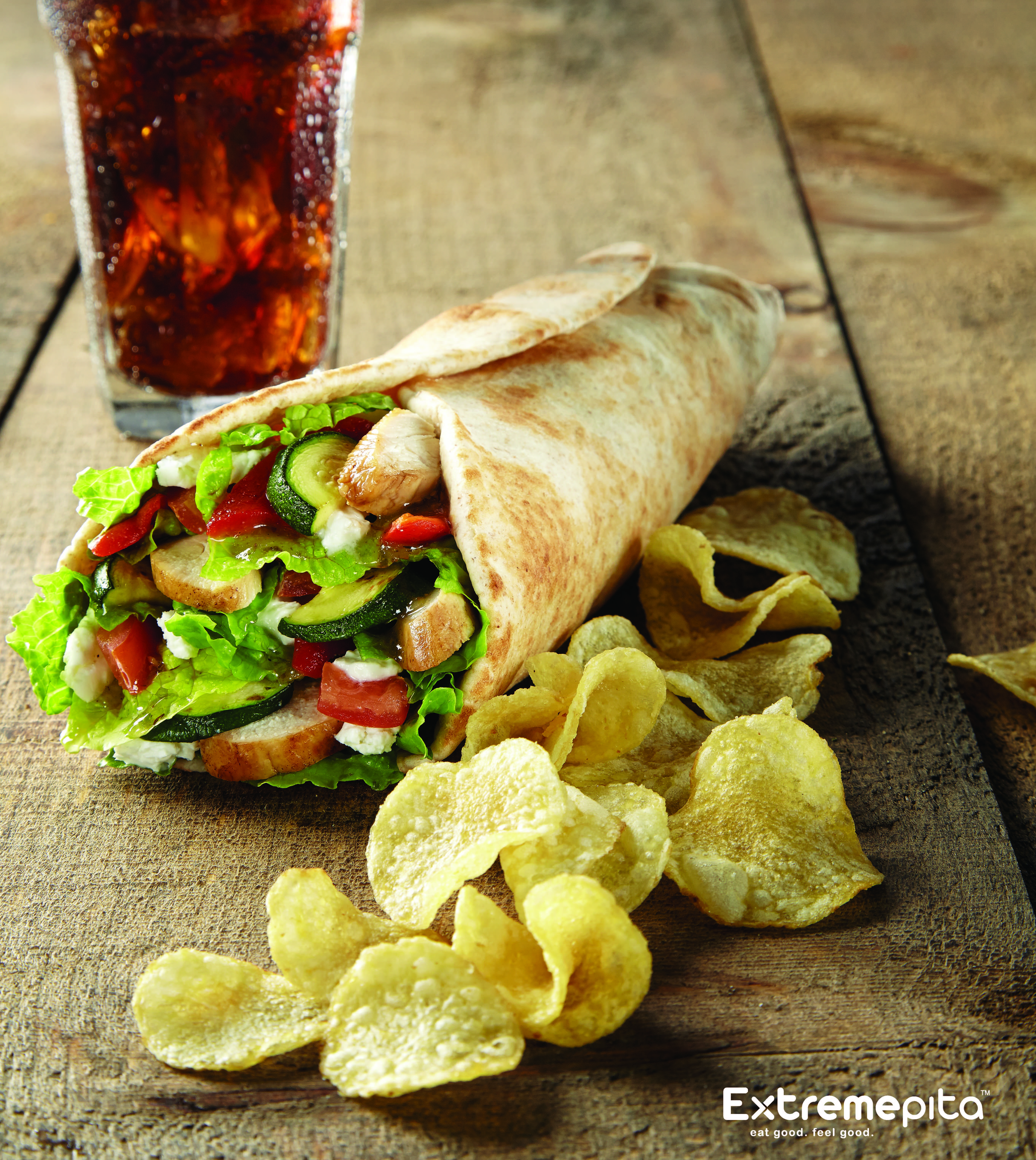Extreme Pita Grilled Chicken and Goat Cheese Promo