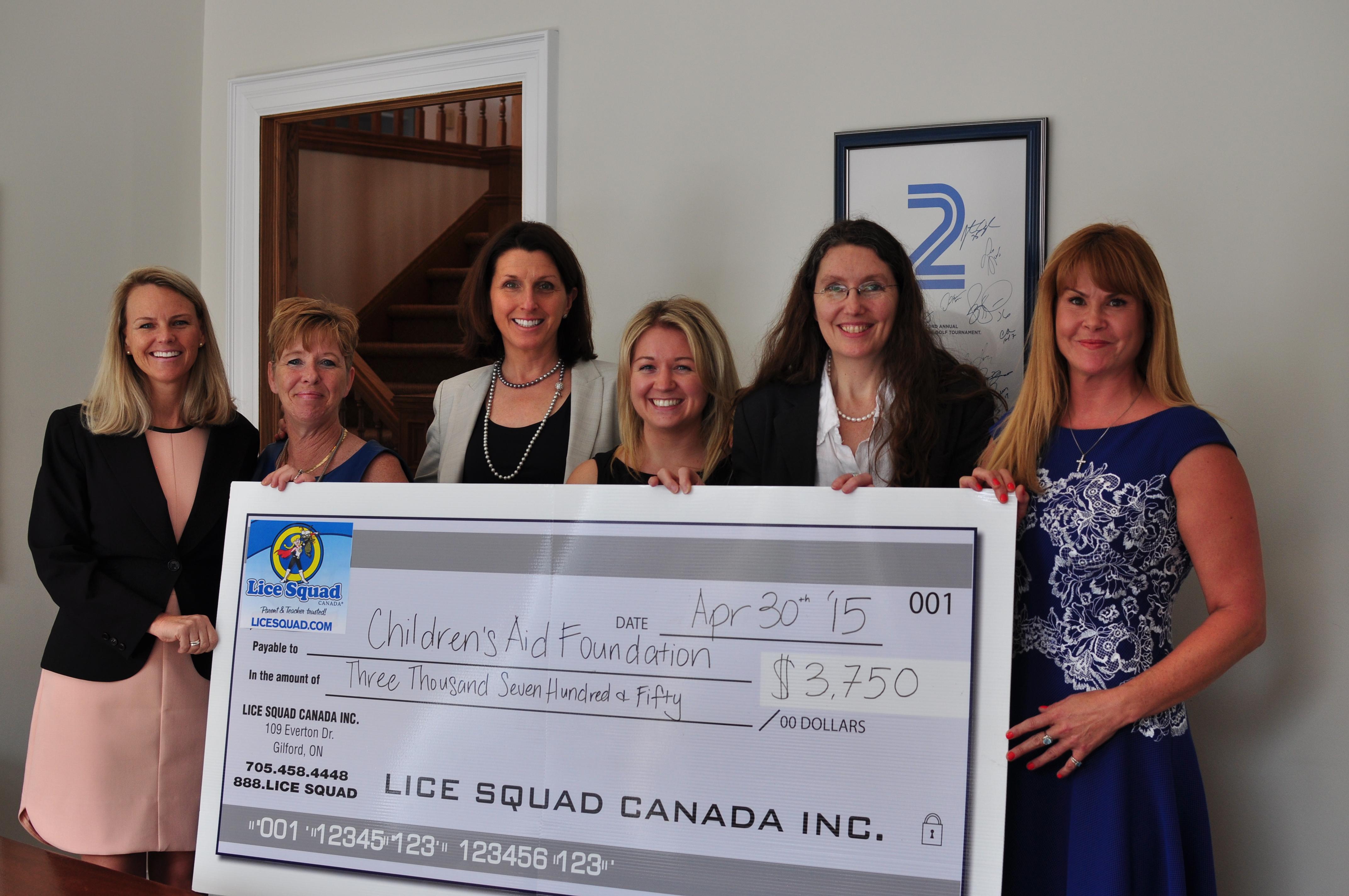 Lice Squad Donation Event