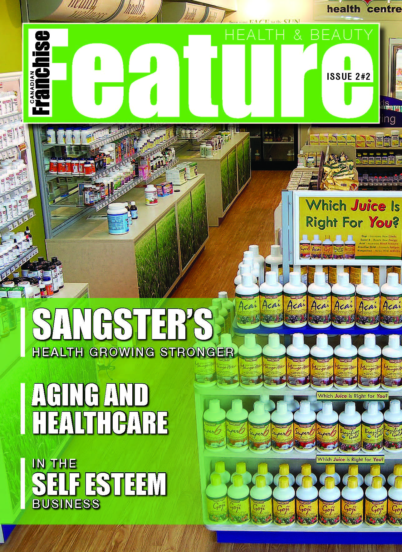 Cover, Volume 2 Issue 2 Sangster's Feature