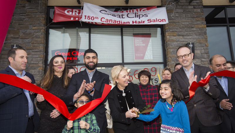 Great Clips Goes 150 for Canada's 150th