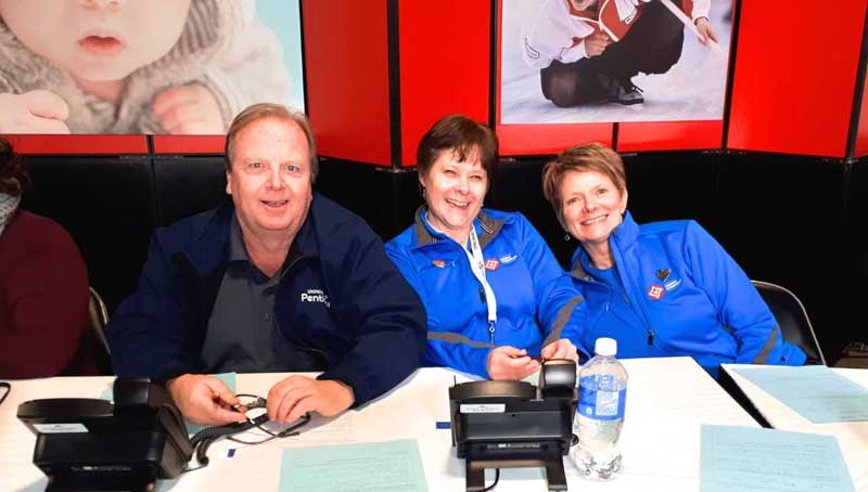 Minuteman Press Franchise Sponsors 2018 Scotties Tournament of Hearts Canada Curling Championships